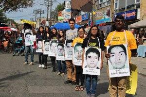 Pedestrian Sunday in Kensington Market focus on Mexico's disappeared students